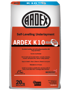 ARDEX K 10 Reactiv8 self-levelling and smoothing compound